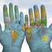 The world in/on my hands! by ingrid01