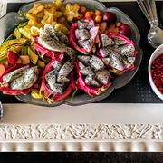 9th Aug 2017 - Fruit platter