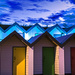 Psychedelic Beach Huts