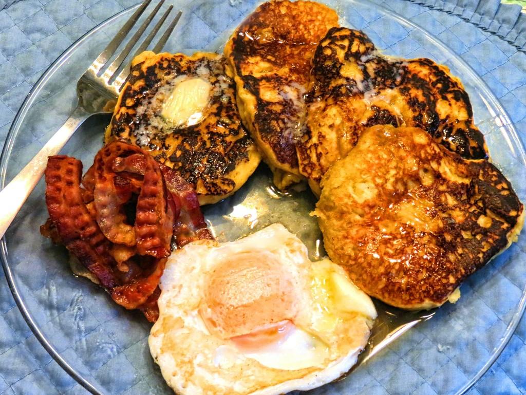 Peach Pancakes by grammyn