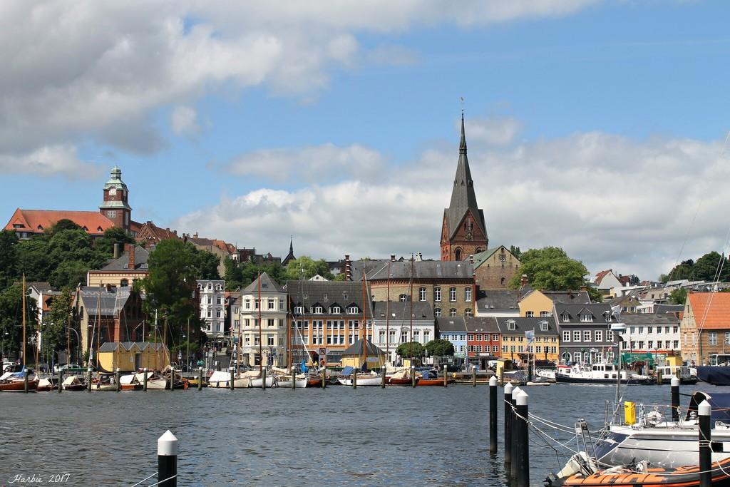 Flensburg Harbor by harbie