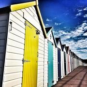 5th Aug 2017 - Morning Beach Huts