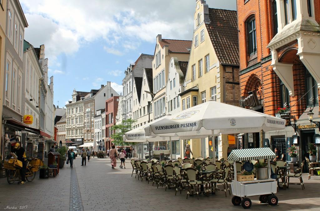 Flensburg City Center by harbie