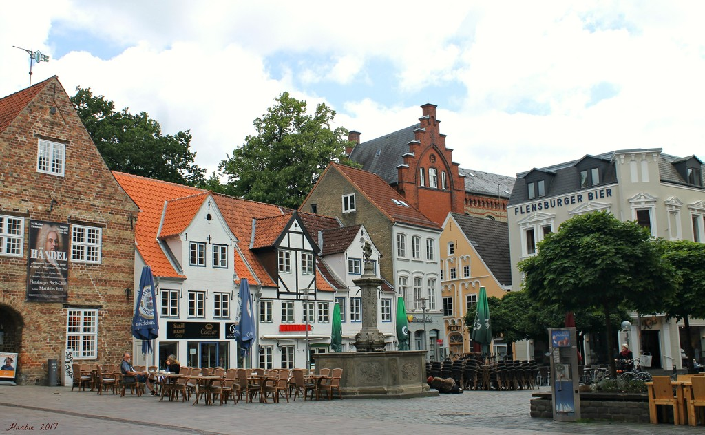 Flensburg City Center II by harbie