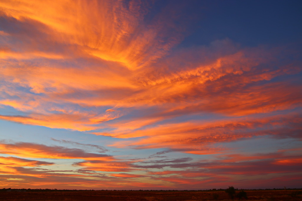 Boulia - Big Sky, Big Sunrise 1 by terryliv