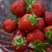 nifty fifty breakfast:  strawberries....