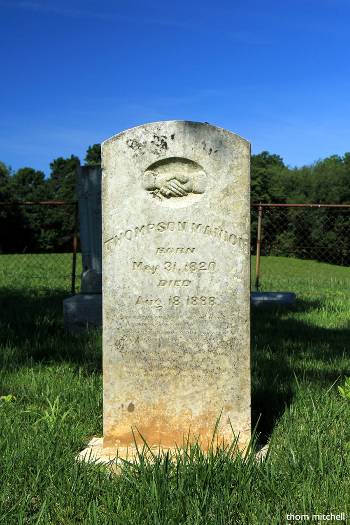 Great-great-great grandfather's grave by rhoing