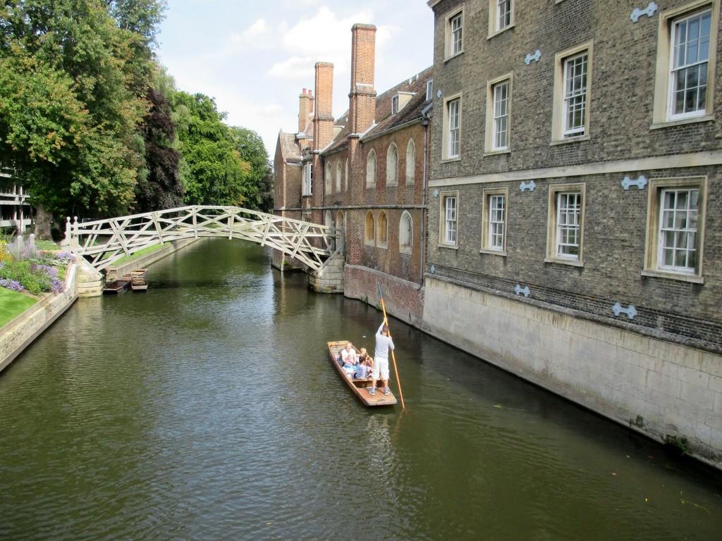 Mathematical Bridge Cambridge  by foxes37