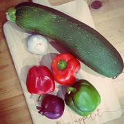 15th Aug 2017 - Super-sized Courgette