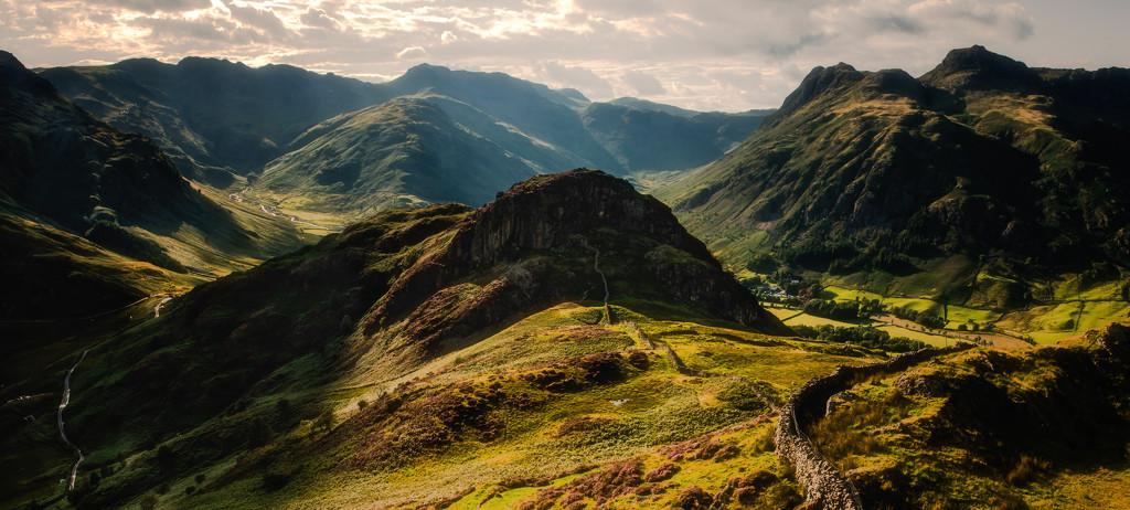 Lake District vista by pasttheirprime