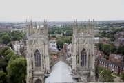 19th Jul 2017 - York Minster towers...