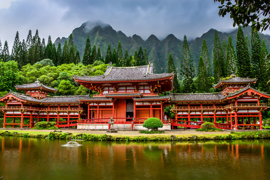 Temple on Oahu by teodw