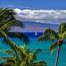 Sailing from Maui