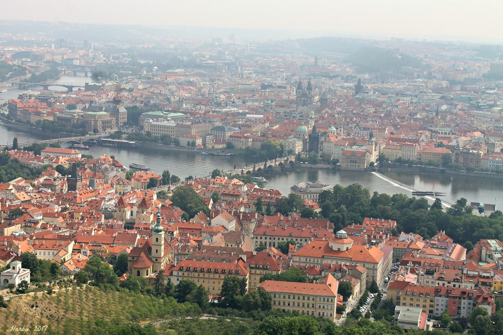 Vltava River by harbie