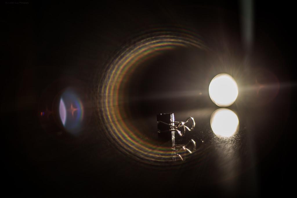 Binder Clip Utilizing Wide Open Lens by bill_fe