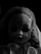 8th Aug 2017 - vintage doll in b&w
