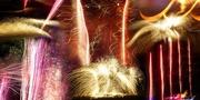21st Aug 2017 - Fabulous fireworks at the Brisbane EKKA