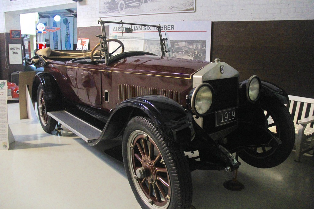 The Australian Six Tourer by landownunder