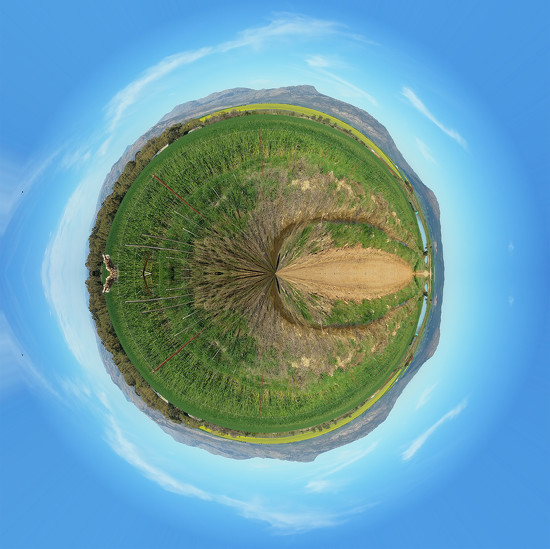 Little Round Planet  by salza