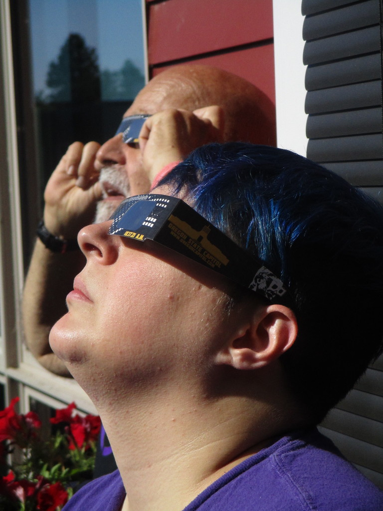 Eclipse Watchers (Alex & Ron) by granagringa