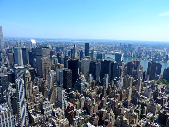 View from the Empire State Building by janeandcharlie