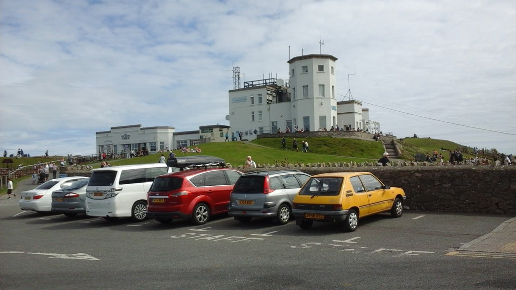 The complex on top of Great Orme by beryl
