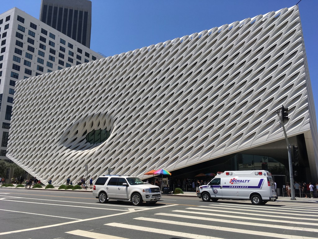 The Broad Museum of Art by handmade