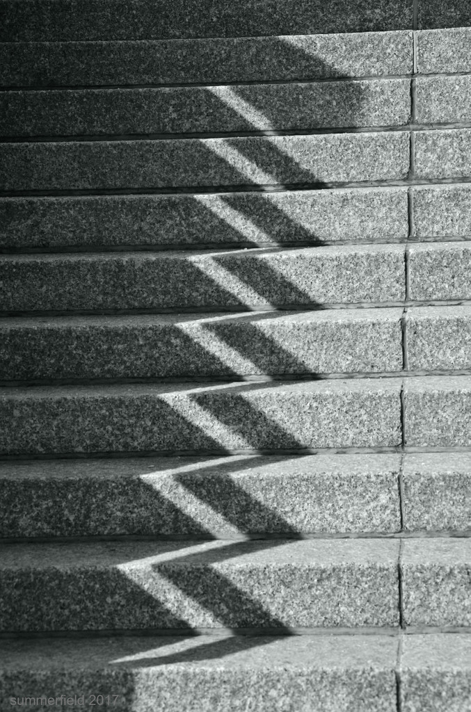 steps and shadows  à la paul strand by summerfield