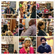 26th Aug 2017 - COLLAGE at a poetry reading