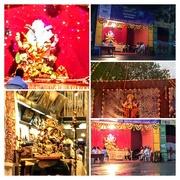 28th Aug 2017 - COLLAGE of festive stalls Mumbai