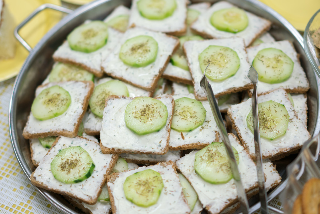 Cucumber Sandwiches by rminer