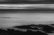 1st Sep 2017 - Yachats After the Sun Went Down B and W