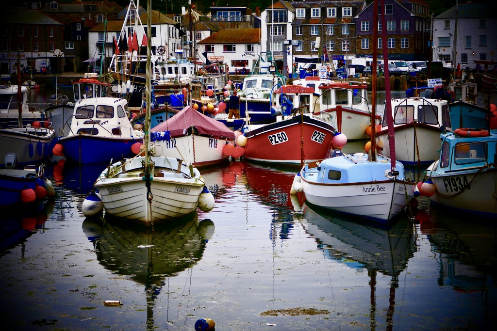 Mevagissy Harbour by carole_sandford