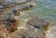 4th Jul 2017 - rock coast of Mali Losinj, Croatia