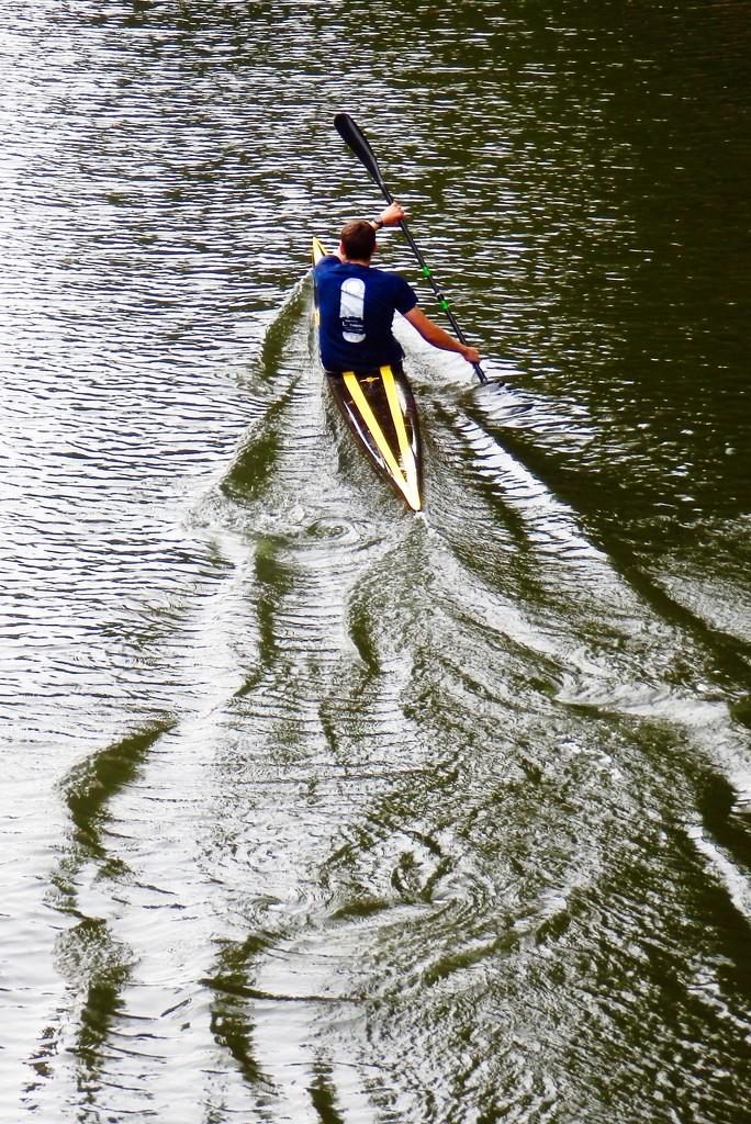 Canoeist by casablanca