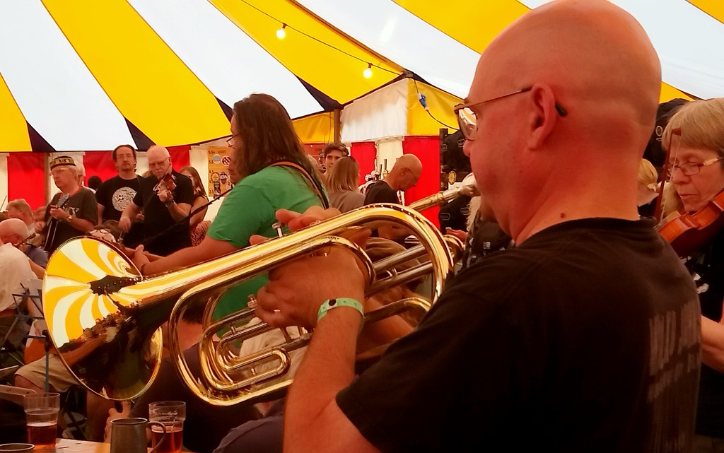 Trumpet in the session by boxplayer