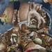 247/365 - Glasgow Street Art #4 - Four Seasons by wag864