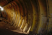 17th Jul 2017 - tunnel under the bunkers of Karosta