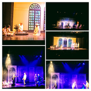 6th Sep 2017 - COLLAGE of a play on Gandhi