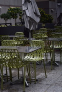 7th Sep 2017 - empty chairs at empty tables