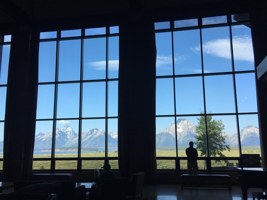 View of the Tetons by redy4et