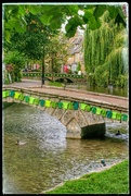 9th Sep 2017 - Bourton on the Water all trimmed up for the Tour of Britain cycle race which goes through today