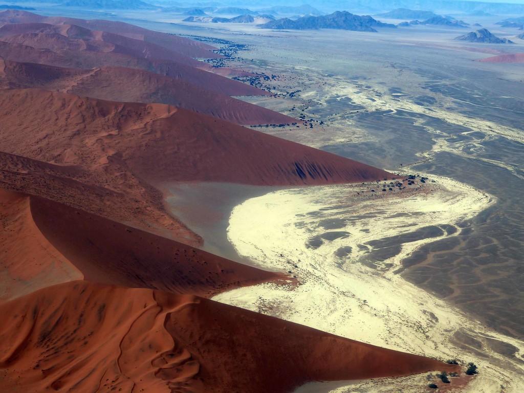 Dunes of the Namib Desert by cmp