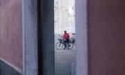 9th Sep 2017 - 9.09 Pietrasanta - Biker in the mirror
