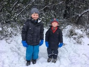 10th Sep 2017 - Boys in the snow