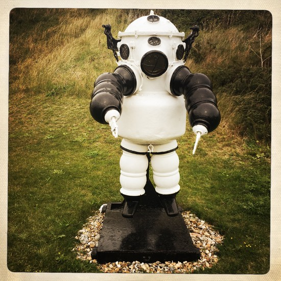Atmospheric Diving Suit  by andycoleborn