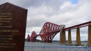 11th Sep 2017 - the Forth Bridge and monument