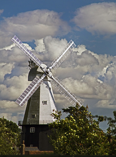 Cranbrook Windmill II by megpicatilly