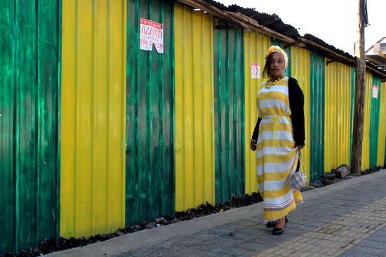 The Addis Abeba yellow woman by vincent24