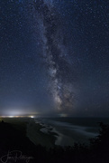 12th Sep 2017 - Looking South Over Baker Beach to the Milky Way